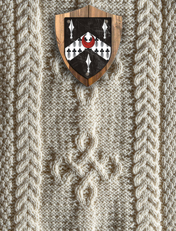 Lewis Clan Aran Throw