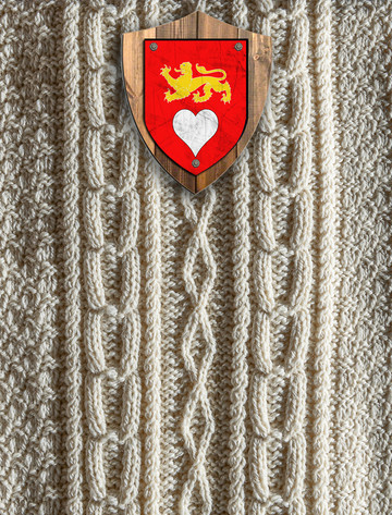 Hart Clan Aran Throw