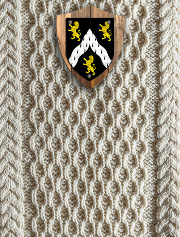 Cooper Clan Aran Throw
