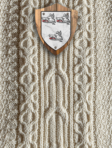 Evans Clan Aran Throw