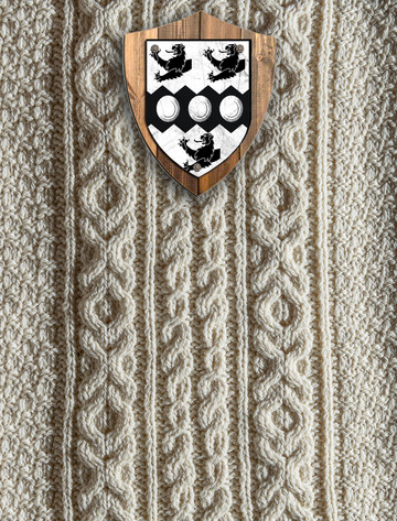 Fisher Clan Aran Throw