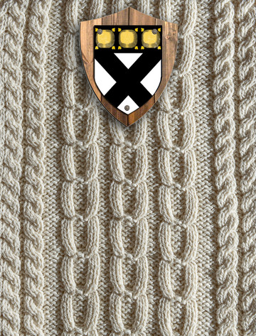 Johnston Clan Aran Throw