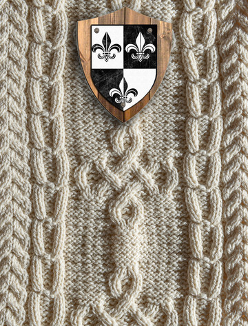Nelson Clan Aran Throw