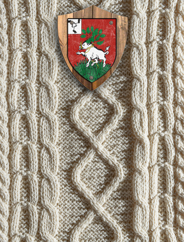 Owens Clan Aran Throw