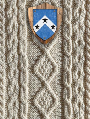 Roberts Clan Aran Throw