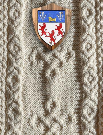 Kearney Clan Aran Throw