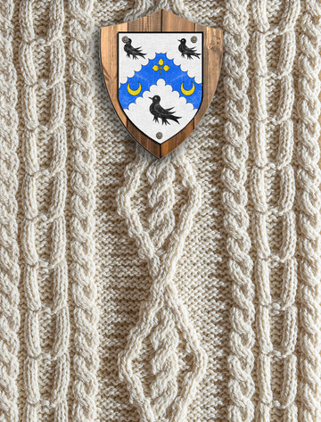 Watson Clan Aran Throw