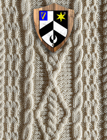 Alexander Clan Aran Throw