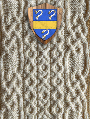 Baker Clan Aran Throw