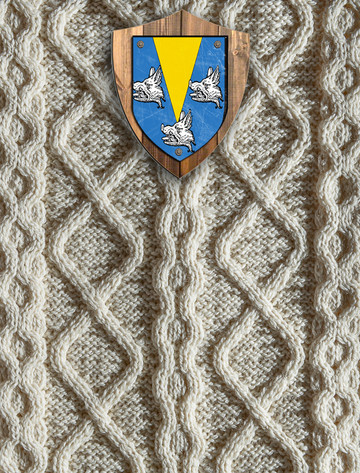 Gordon Clan Aran Throw