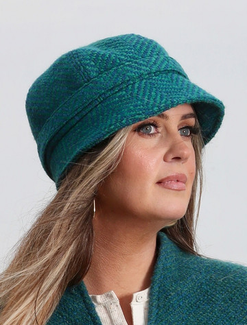 Wool County Hat - Killybegs Jade
