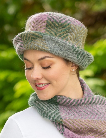 Wool Country Hat - Multi-Loden