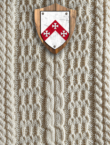 Freeman Clan Aran Throw
