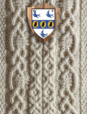 George Clan Aran Throw
