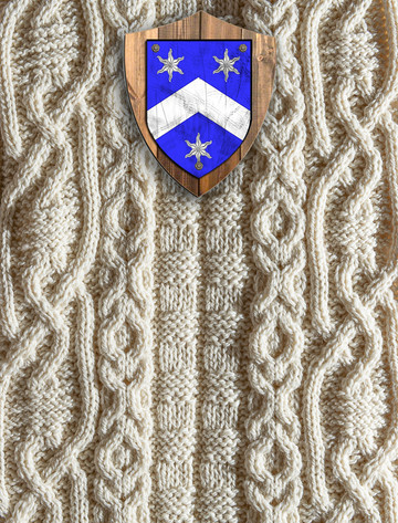 Carr Clan Aran Throw