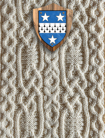 Crawford Clan Aran Throw