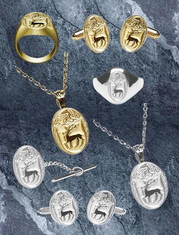 McCarthy Heraldic Gold & Silver