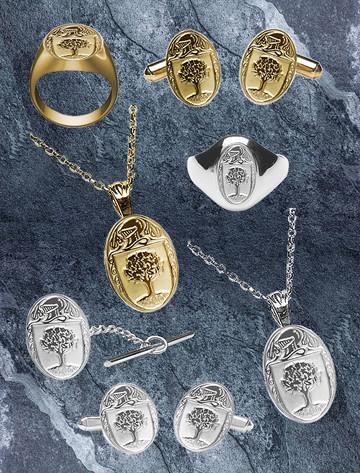 O'Connor Clan Heraldic Jewelry