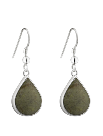 Connemara Marble Tear Drop Earrings
