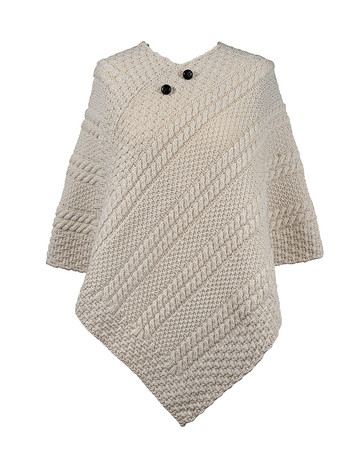Cleary Clan Aran Poncho