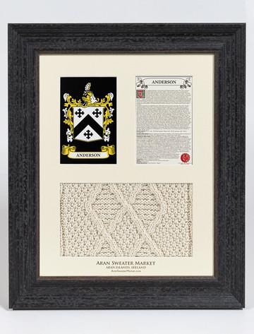 Anderson Clan Aran & History Display