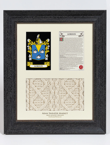 Gordon Clan Aran & History Display