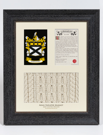 Johnston Clan Aran & History Display