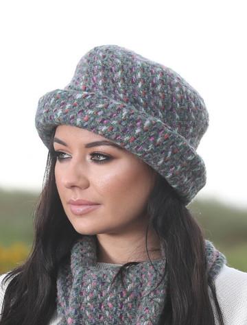 Wool Country Hat - Connemara Loden