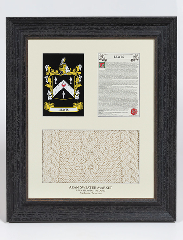 Lewis Clan Aran & History Display