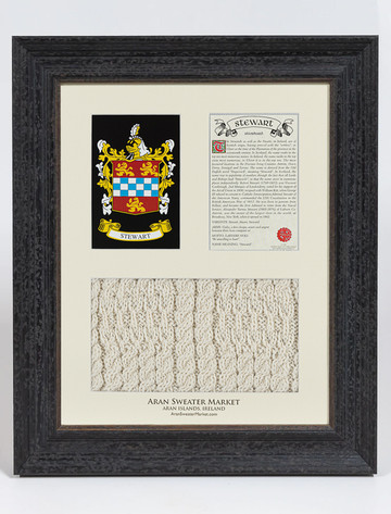 Stewart Clan Aran & History Display