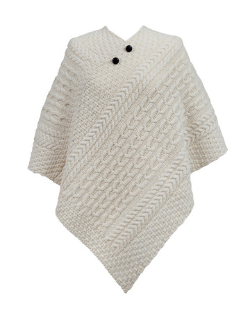 Johnston  Clan Aran Poncho