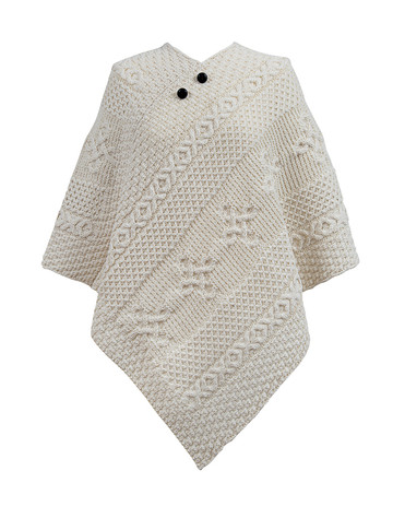 James Clan Aran Poncho