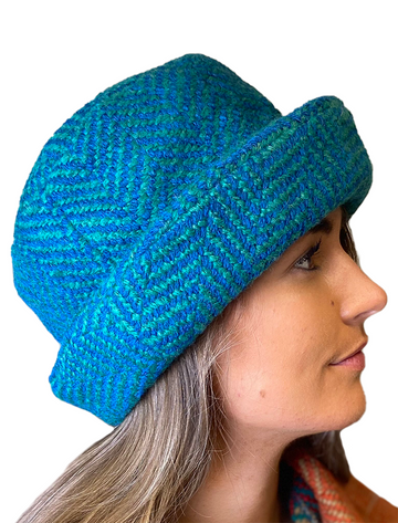 Wool Country Hat - Killybegs Jade