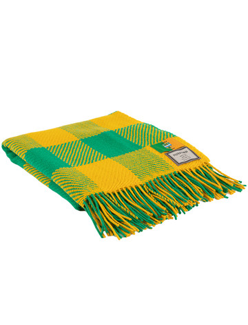 Pure Merino Wool County Throw - Kerry