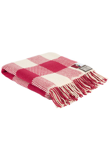 Pure Merino Wool County Throw - Galway