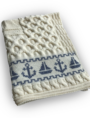 Pure Merino Wool Baby Blanket
