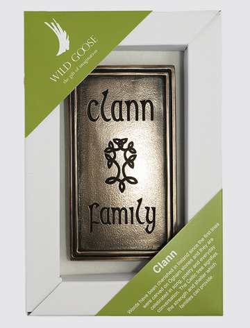 Irish Bronze Wall Plaque - Clann