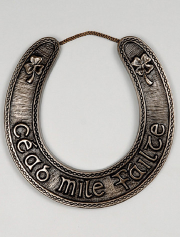 Irish Bronze Lucky Horseshoe