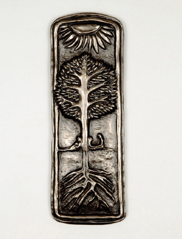 Irish Bronze Family Tree Plaque