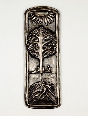 Irish Bronze Family Tree Plaque
