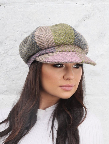 Ladies Wool Peaky Blinders Hat - Donegal Loden