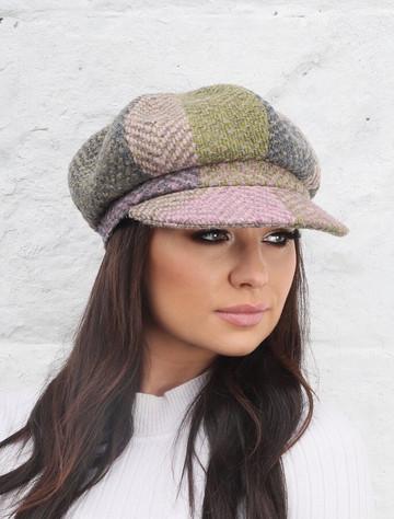Ladies Wool Peaky Blinders Hat - Donegal Loden
