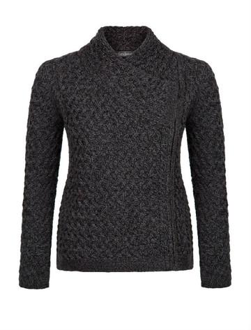 Carlow Trellis Jacket - Charcoal