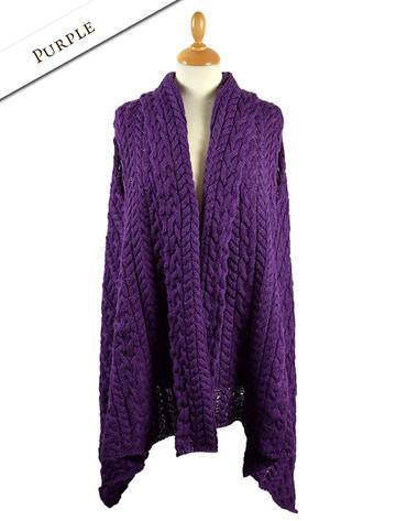 Annalee Shrug - Purple