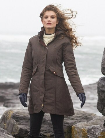 Una Ladies Waterproof Coat - Olive