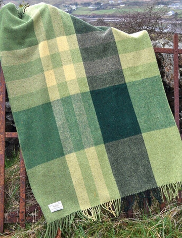 Into The Wild Handwoven Throw - Landscape