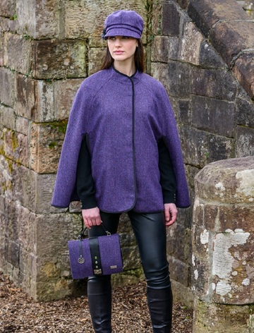 Mucros Dingle Cape - Dark Purple