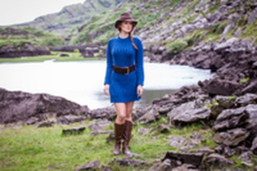 Product Spotlight - The Aran Sweater Dress gets a Western Twist for the Autumn Season