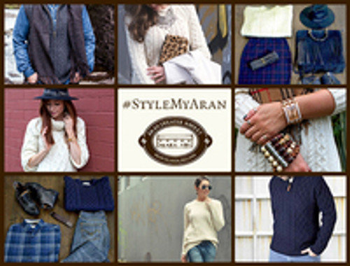 #StyleMyAran; New Aran Sweater Market Competition