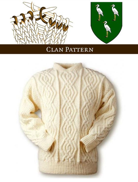 Ahern Knitting Pattern